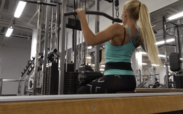 Quickworkout – Biceps och ryggpass