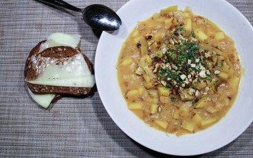 Potatis- & purjolökssoppa